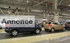 Kia Motors eurpæiske fabrik havde rekordår i 2011